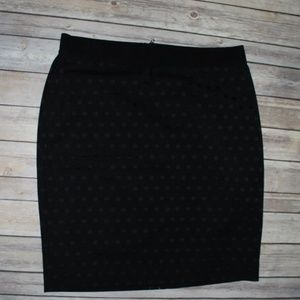 Black Dot Ann Taylor Skirt